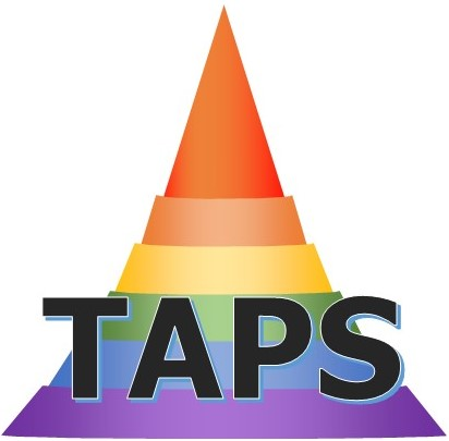 This image has an empty alt attribute; its file name is TAPS-Logo-3D-1.jpg